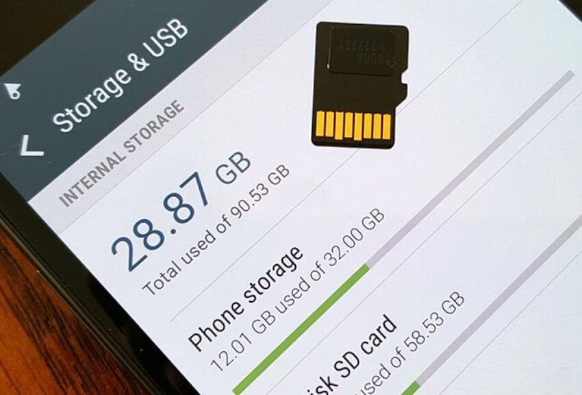 Что делать когда объем встроенной памяти недостаточен на Android