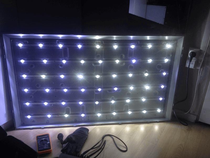Подсветка матрицы телевизоров LG