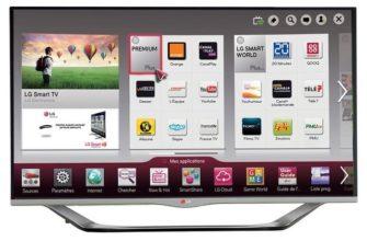 Программа телевизора LG