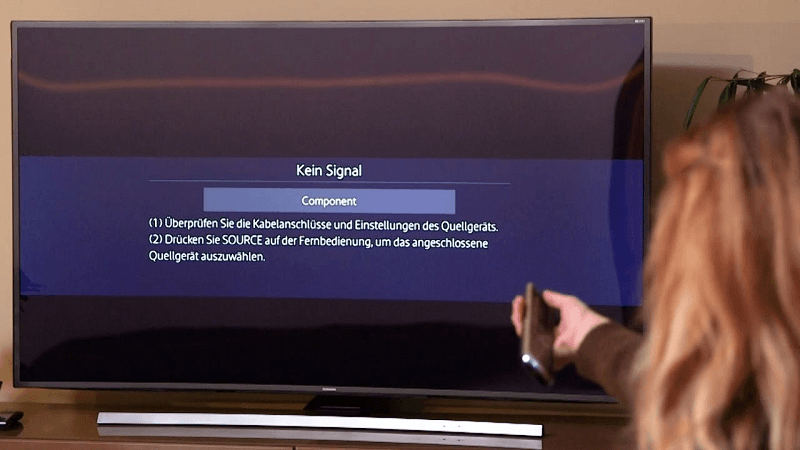 Сбой в настройках ТВ