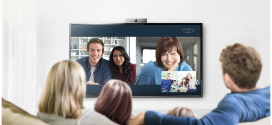 Как установить и настроить Skype на телевизоре SAMSUNG ...